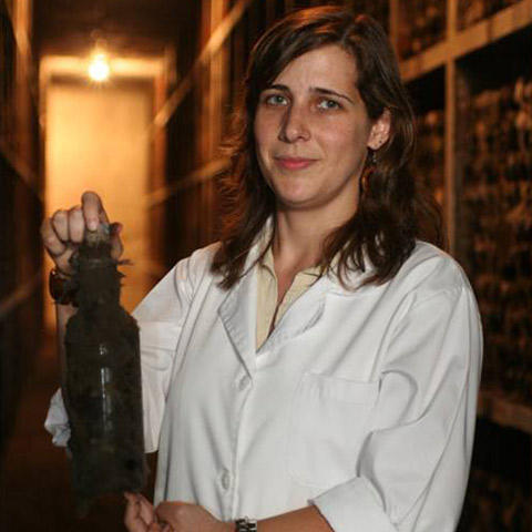 Winemaker Ana Urbano