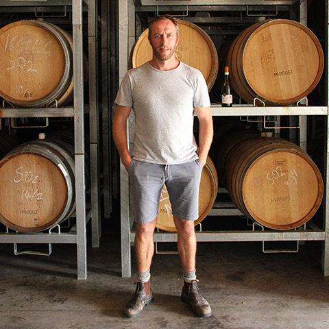 Winemaker Andrew Brown