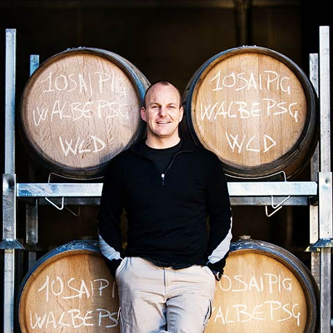 Winemaker Hamish Clark