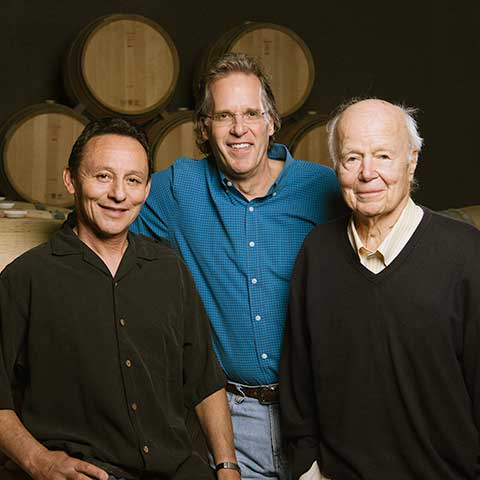 Elias Fernandez (Winemaker), Doug & Günder John Shafer