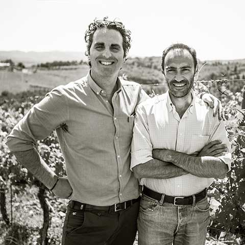 Winemaker Federico Cerelli & Winzer Francesco Caselli