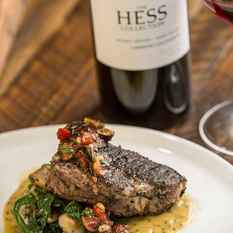 Hess Collection Cabernet zum Steak