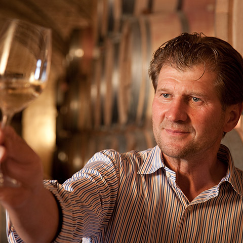 Winemaker Walter Skoff