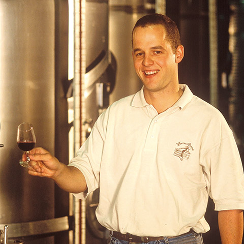 Winemaker Shawn Thomson