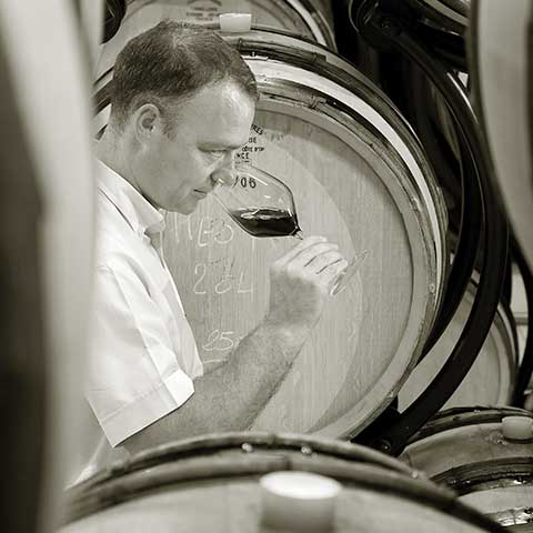 Winemaker Jacques Grange