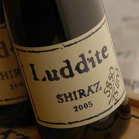Legendär: Luddite Shiraz